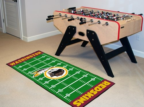 Washington Redskins Football Field Runner Rug