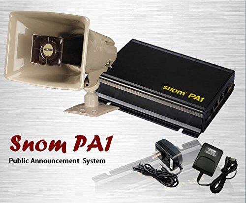 Snom Pa1 Ip Phone Paging System Buy Online In Uae