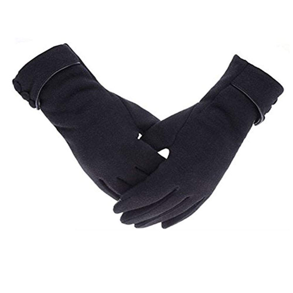 60736181a6846e Secator Damen Touchscreen-Telefon Winddichte Handschuhe aus Fleece Warme  Winterkleidung