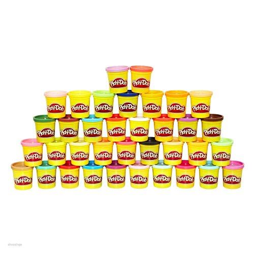 Play Doh Mega 36 Pack  Compound Kit Fun Playdough Kids Art Craft Gift Play Set