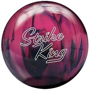 Brunswick Strike King Bowling Ball, Purple/Pink Pearl, 10-Pound
