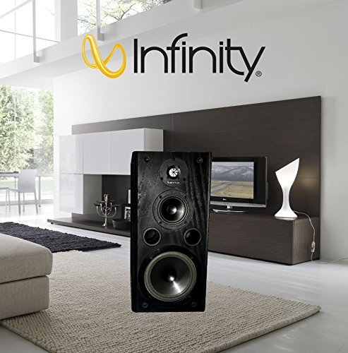 Infinity Kappa 5.1 series ii (Black Oak) Hi-Fi Bookshelf (Kappa Series Speakers)