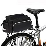 Bike Pannier Bag Bike Trunk Bag Panniers Bag for Bicycle Cargo Rack Saddle Bag Shoulder Bag Pannier Rack Bicycle Bag Professional Cycling Accessories for Road Bikes Mountain