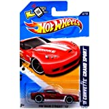 2012 Hot Wheels HW Main Street '11 Corvette Grand Sport Red [Roanoke Fire Dept] #162/247
