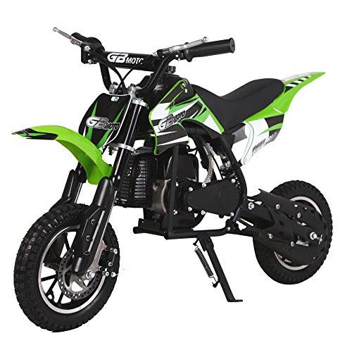 KidsFunWorld 49CC 2-Stroke Gas Power Mini Pocket Dirt Bike Dirt Off Road...
