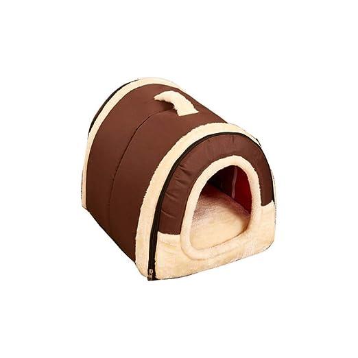 TJW Cama Plegable para Perro,Plegable Suave de Cama, Casa para Mascotas,doméstico para el Gato: Amazon.es: Productos para mascotas