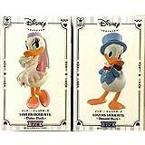 ディズニーキャラクターズlovers moments-donald duck-青スーツ & -daisy duck- ピンクドレス ver 2種セット