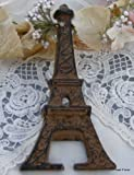 Cast Iron Eiffel Tower French Bottle Opener Paris Decor For Sale