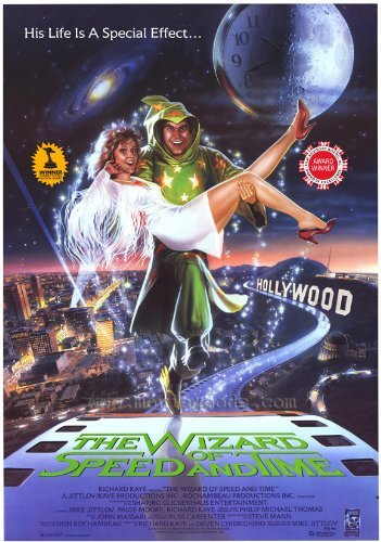 The Wizard of Speed and Time POSTER Movie (27 x 40 Inches - 69cm x 102cm) (1988)