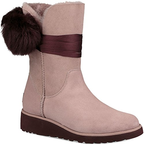 Womens boots, colour Black , brand UGG, model Womens Boots UGG W BRITA Black Pink