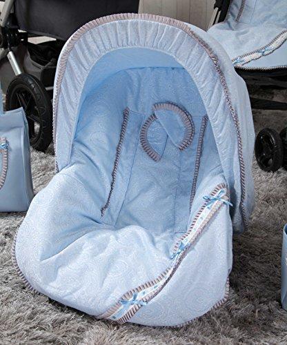 Babyline Bombon - Colchoneta para silla grupo 0, color azul