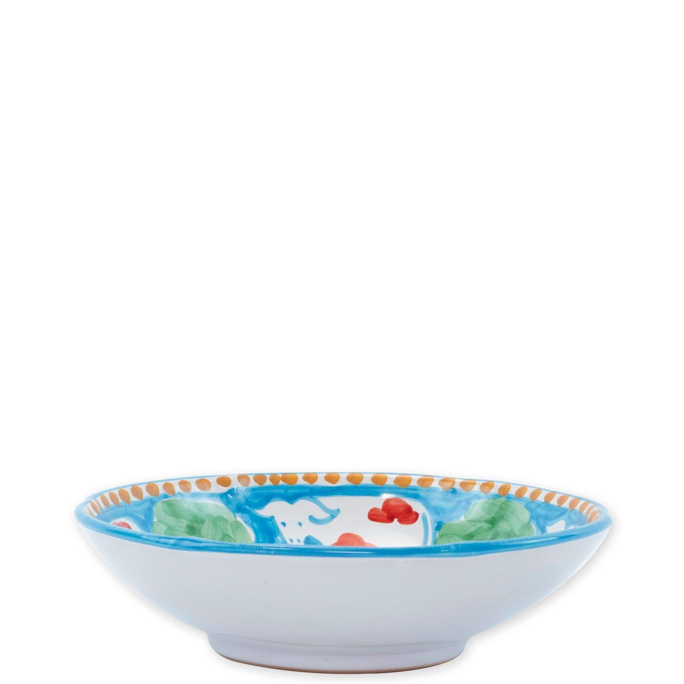 Vietri Mucca Coupe Pasta Bowl Campagna Collection
