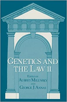 Book Genetics and the Law Ii: 2
