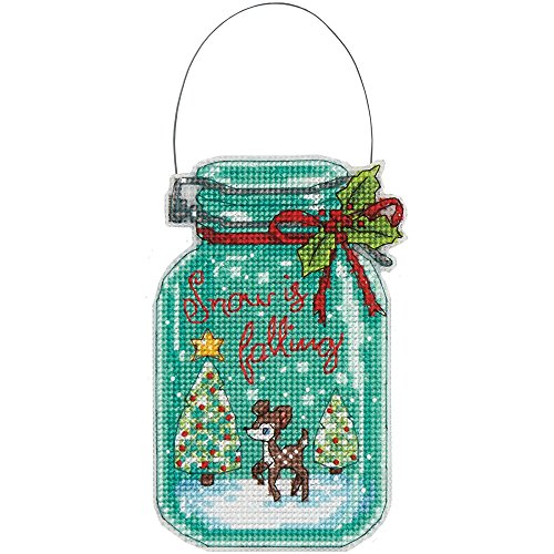 Dimensions Needlecrafts Christmas Ornament Set, Counted Cros
