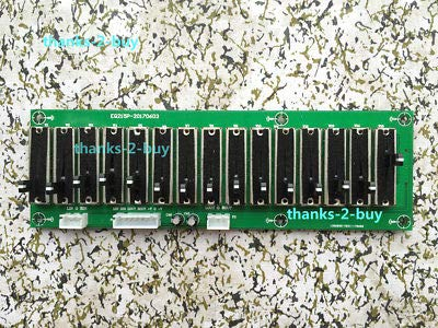 FidgetGear Stereo EQ Equalizer Board 15 Band 2 0Channel Preamplifier Tone  Adjustable Preamp