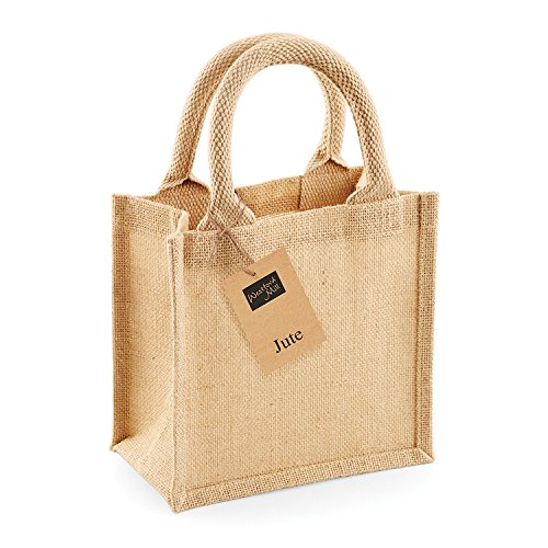 Westford Mill Jute Petite Gift Bag Natural