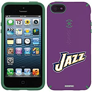 Speck iphone 5c Purple CandyShell Case with Utah Jazz Jazz Design by Coveroo