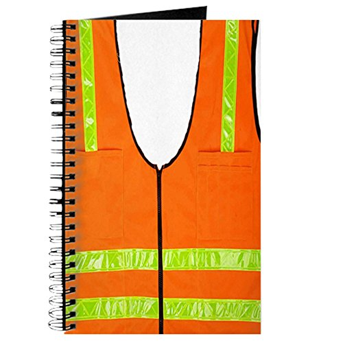 (CafePress - reflective vest safety halloween costume s Journal - Spiral Bound Journal Notebook, Personal Diary,)