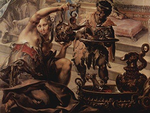 Lais Puzzle Johann Georg Platzer - La pintura invitada de Cleopatra, detalle 2000 piezas