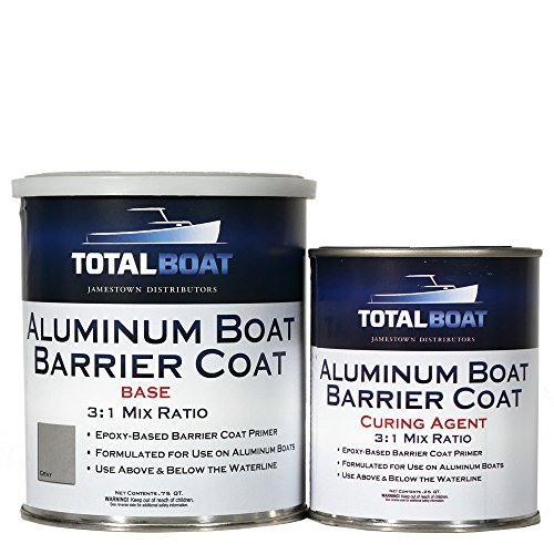 (TotalBoat Aluminum Boat Barrier Coat (Quart, Gray))
