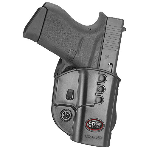 Fobus GL43ND Glock 43 Paddle Holster