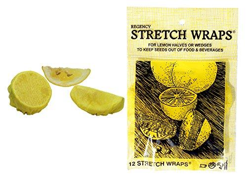 Regency Stretch Wraps for Lemon Halves and Wedges pack of 12