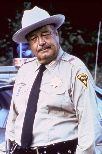Jackie Gleason Smokey and Bandit 24x36 Poster with sheriff's car (Jackie Gleason Smokey And The Bandit Photos)
