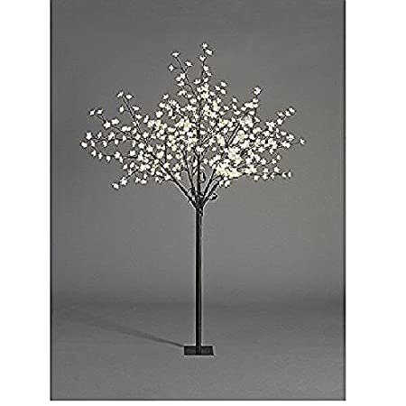 JnDee/™ Safe Voltage Fully Weatherproof White Christmas Winter Birch Twig Tree with 180LED Warm White Outdoor//Indoor