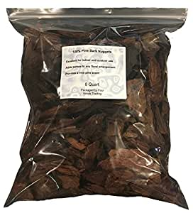 100% Pine Bark Nuggets (8 quart)