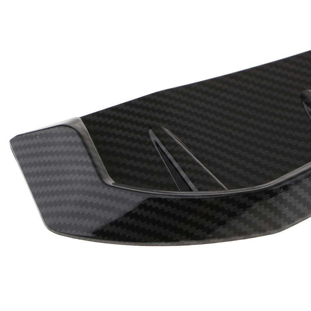 perfk Auto Selbstklebend R/ückseite Bel/üftung Kotfl/ügel Lufteinlass Abdeckung Aus Kunststoff Kohlefaser