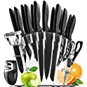 13-Piece Home Hero Stainless Steel Knife Set with Block