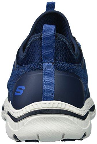 ... Skechers Menns Avslappet Fit-creston-argest Sneaker Navy ...