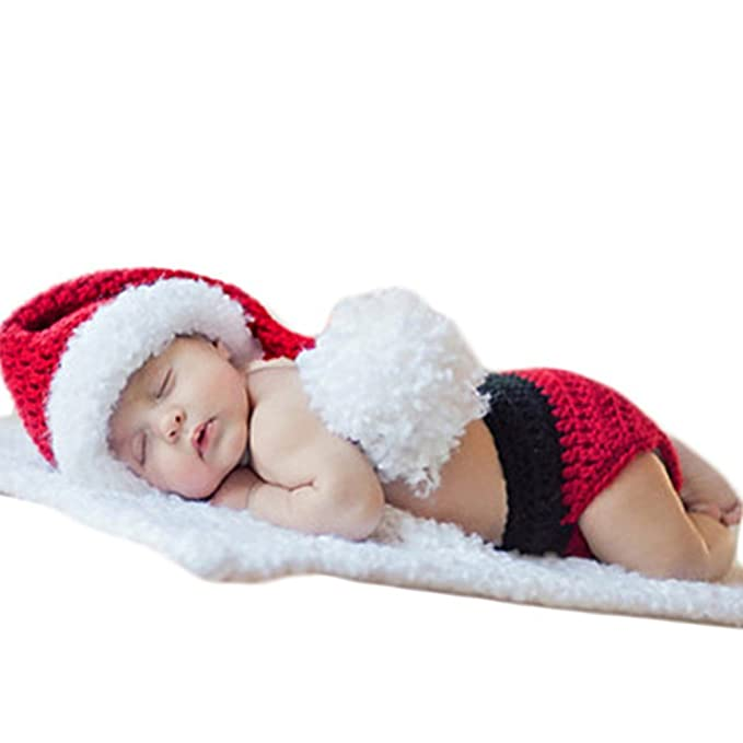 0e3d5517eb1 Image Unavailable. Image not available for. Color  Baby Photography Props  Christmas Outfits Newborn ...