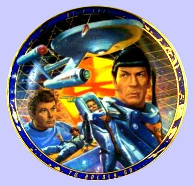 Star Trek Collector Plate: The Tholian Web (Star Trek Original Episodes Plate Collection)