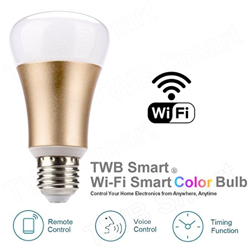 Wi-Fi Smart Bulb, Works with Amazon Echo Alexa, No Hub Required (40W 1-Pack)