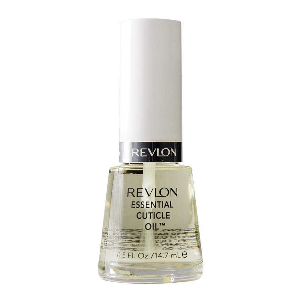 Revlon Essential Cuticle Oil, Nourishing Nail Care with Vitamin E, 0.5 oz : Beauty
