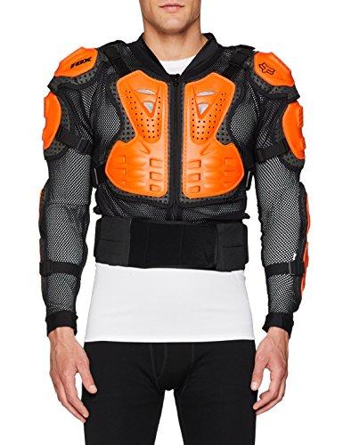 Fox Racing Titan Sport Jacket-Black/Orange-L by Fox Racing (Image #1)