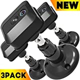 Blink XT Camera Wall Mount,360 Degree Protective Adjustable Indoor Outdoor Mount for Blink XT Outdoor Camera Security System-3Pack (Black)