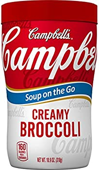 Pack-8 Campbells 10.75 Ounce Soup on the Go (Creamy Broccoli)