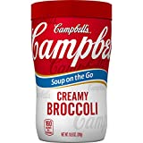 Campbell's Soup on the Go, Creamy Broccoli, 10.75 Ounce (Pack of 8)