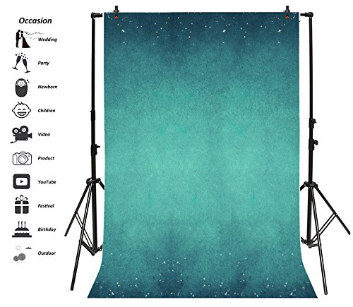 Leyiyi 8x10ft Photography Backdrop Merry Christmas Background Vintage Green Wall Happy New Year Midnight Carnival Holy Shining Spots Summer Party Banquet Photo Portrait Vinyl Video Studio Prop