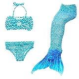 Best Kids Swim Fins - Mermaid Swim Tail,Vishm 3pcs Mermaid Tail Princess Girls Review