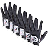 Finger Ten New Mens RainGrip Hot Wet Weather Comfort Extra Value Left Hand LH and Right Hand RH Durable Golf Gloves Value 6 Pack