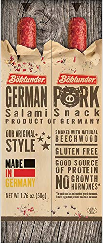Boklunder Original German Pork Salami Sticks