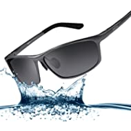[Sponsored]Bertha 2017 New Fashion Driving Polarized Sunglasses for Men Unbreakable-aluminum...