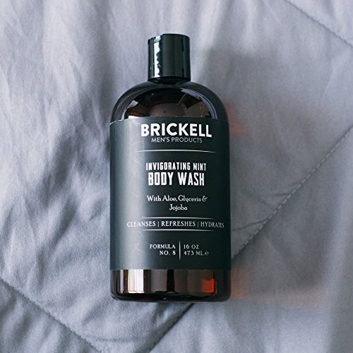 Brickell Men's Invigorating Mint Body Wash for Men – 16 oz – Natural & Organic by Brickell Men's Products (Image #4)