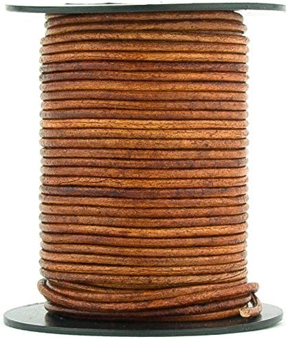 Rawhide Round Leather Cord 2mm 10 meters 11 yards