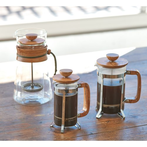 Hario CPSW-2-OV Olivewood Cafépress Coffee and Tea Press, 300ml by Hario (Image #1)