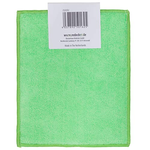 REDECKER Dual Sided Copper and Microfiber Cleaning Cloth, Set of 5, 7-3/4'' x 6'', Non-Abrasive Copper Effectively Scrubs, Absorbent Microfiber Wipes Surfaces Clean, Machine Washable, Made in Germany by REDECKER (Image #3)