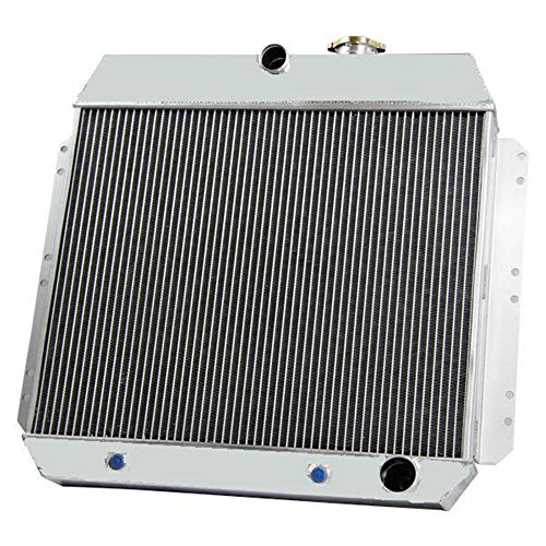 Chevy 1951 Sedan - OzCoolingParts 2 Row Core Aluminum Radiator for 1949-1954 1950 1951 1952 53 Chevy Fleetline, Styleline, Bel Air, Sedan Delivery and More Models